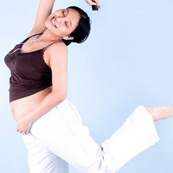 Uma dica para aliviar a dor das contrações: dançar