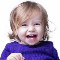 Dentes de leite do bebê