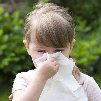 Alergias que afetam à respiração das crianças