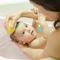 Como dar um bom banho no seu bebê