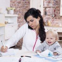 Como conciliar filhos e trabalho