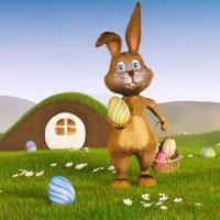 Coelhinho da Páscoa. Canção para Crianças