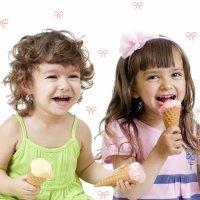 A partir de que idade as crianças podem tomar sorvete