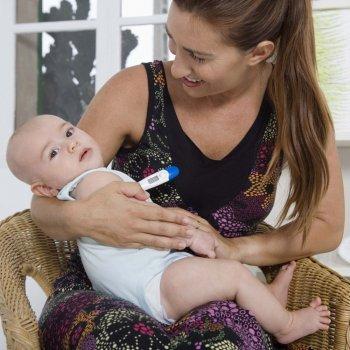 Como se mede a temperatura de um bebê