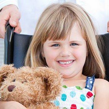 Jogos para crianças em cadeira de rodas