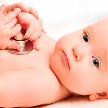 Sopro no coração do bebê e da criança