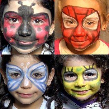 Dicas de maquiagens de carnaval para crianças