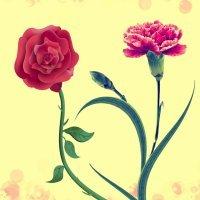 O cravo brigou com a rosa. Canção para crianças