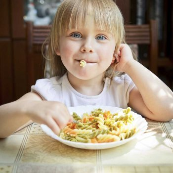 A boa e a má alimentação infantil