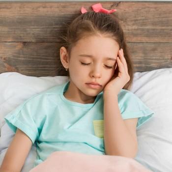 Dor de cabeça nas crianças