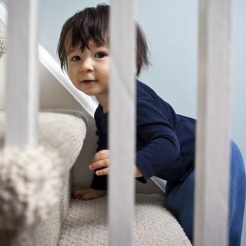 Uma casa segura para os bebês e as crianças