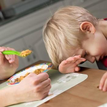 Problemas na alimentação infantil. A criança não quer comer