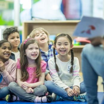 Aulas de felicidade para as crianças