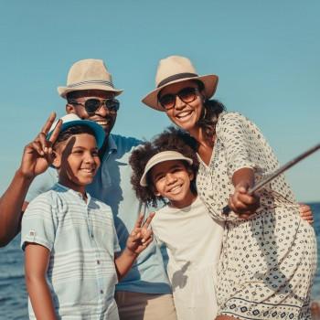 Como programar as férias com os seus filhos