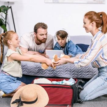 O que levar nas viagens com crianças e bebês