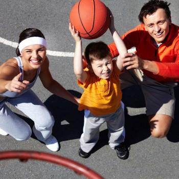 O esporte e as crianças