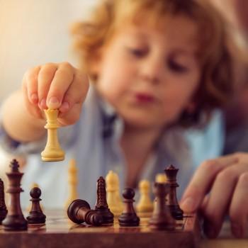 O jogo de xadrez e as crianças