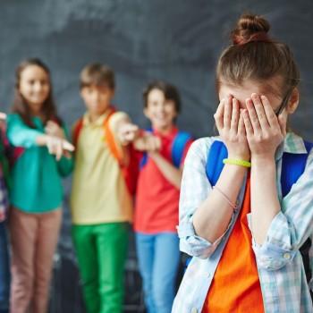 O agressor e a vítima da violência escolar