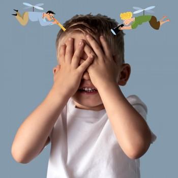 Como são os pais helicóptero - Superproteção dos filhos