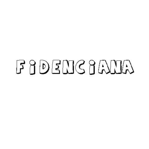 FIDENCIANA