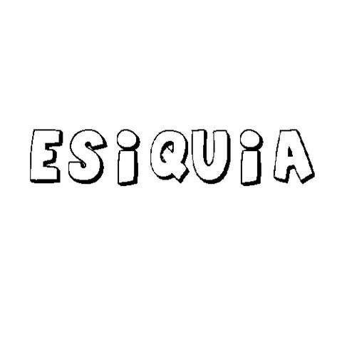 ESIQUIA