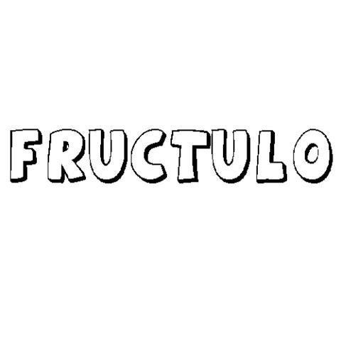 FRÚCTULO