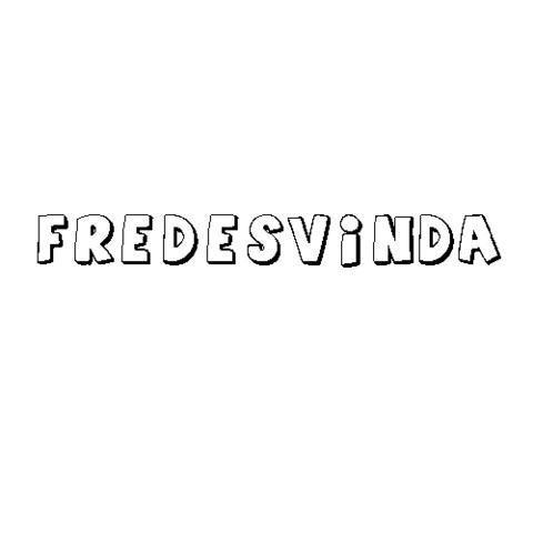 FREDESVINDA