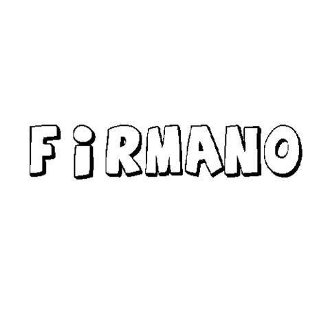 FIRMANO