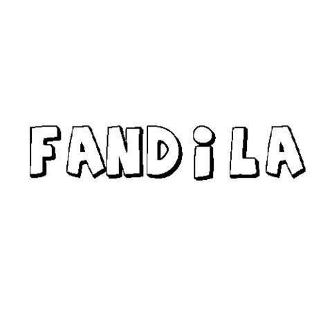 FÁNDILA