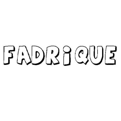 FADRIQUE