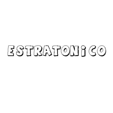 ESTRATÓNICO