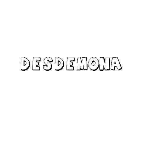 DESDÉMONA