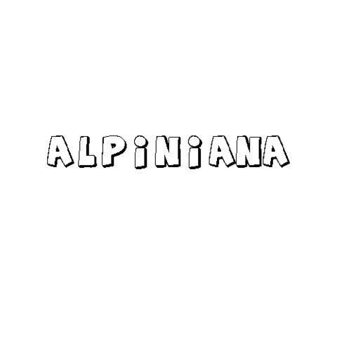 ALPINIANA