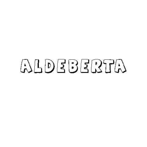 ALDEBERTA