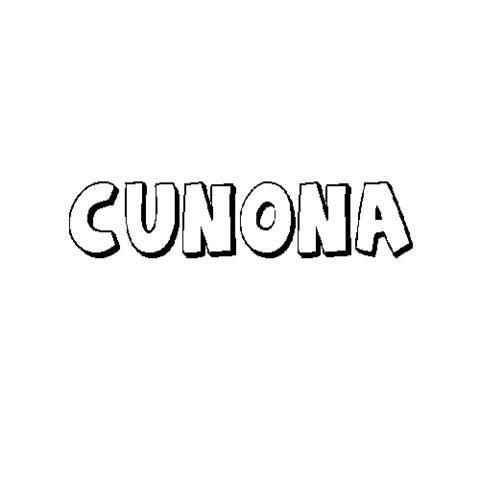 CUNONA