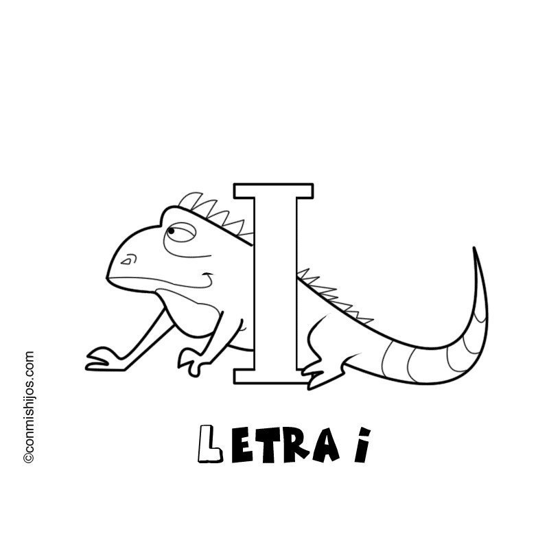 Letra I