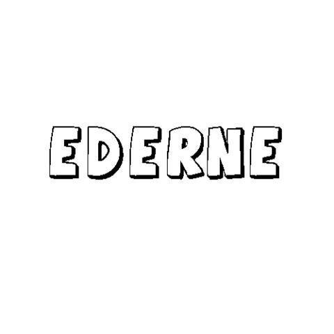 EDERNE