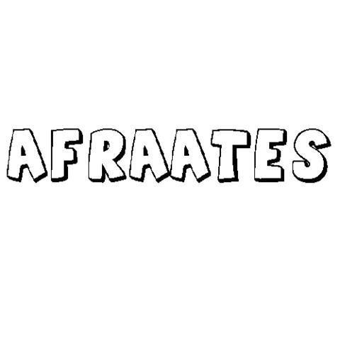 AFRAATES