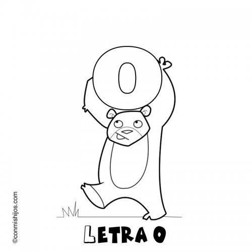 Letra O