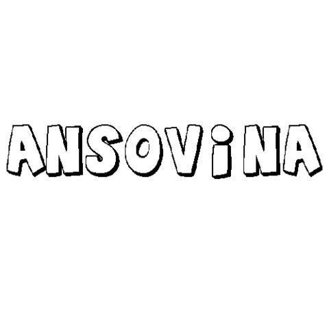 ANSOVINA