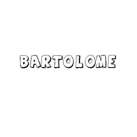 BARTOLOMÉ