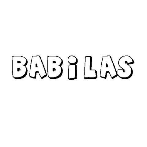 BÁBILAS
