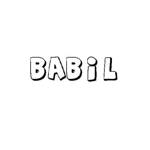 BÁBIL