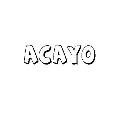 ACAYO