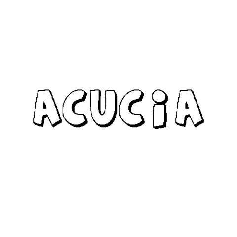ACUCIA