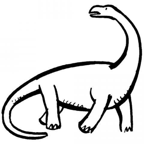 Dibujo De Dinosaurio Para Imprimir Y Pintar Dibujos De Animales Los dinosaurios se adaptaron a su entorno durante una evolución de 120 millones de años. imprimir y pintar dibujos