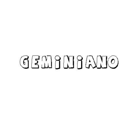 GEMINIANO