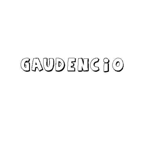 GAUDENCIO