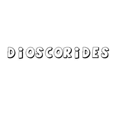 DIOSCÓRIDES