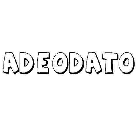 ADEODATO